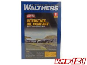 N Interstate Oil Company Building Kit - Walthers Cornerstone #933-3200  vmf121