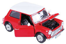 1:24 Scale 1969 Mini Cooper Diecast Car Model Die Cast Cars Models Miniature