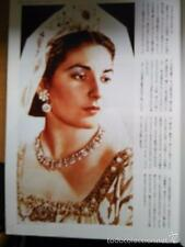 CLIPPING recorteJAPAN JAPON MADAME BUTTERFLY maria callas