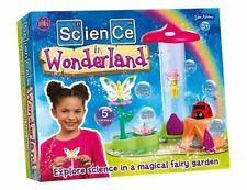 John Adams SCIENCE IN WONDERLAND SET with 5 Fairy Garden Experiments