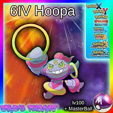 HOOPA 6IV BattleReady lv100 Mythical / Pokemon XY ORAS Ultra Sun/Moon 3DS
