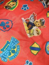 Nickelodeon Paw Patrol Toddler Bed Fitted Sheet Crib Chase Marshall Rubble Etc
