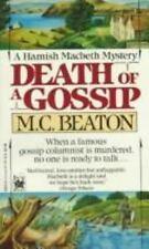 Death of a Gossip (Hamish Macbeth Mysteries, No. 1) M.C. Beaton PB