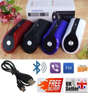 Leistungsstarke Portable Drahtlose Bluetooth Stereo Lautsprecher, Unterstützung FM USB für Handy...
