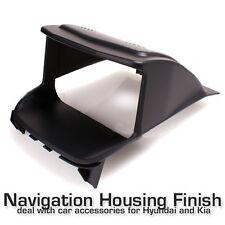 GPS Navigation Housing Finish Cover Center Fascia (Fit: KIA FORTE KOUP)