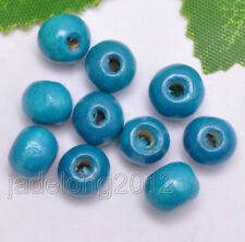 Wholesale 100pcs Round Charms Loose Spacer Beads 8mm Jewelry Make Findings