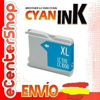 Cartucho Tinta Cian / Azul LC1000 NON-OEM Brother MFC-3360C / MFC3360C
