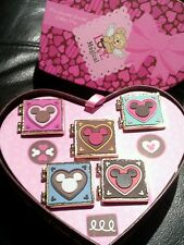 Disney WDW Valentine Love is Magical Chocolate Heart Box 5 Pin Set LE 250
