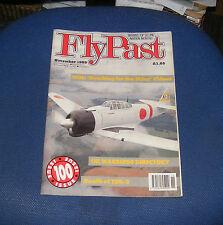 FLYPAST MAGAZINE NOVEMBER 1989 - UK WARBIRDS DIRECTORY/DEATH OF TSR-2