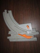 Fisher Price Geo Trax Intersection Switch Right Train Replacement Piece Grey