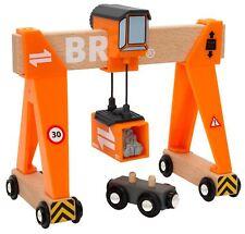 Brio GANTRY CRANE Wooden Toy Train BNIB