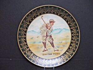 """Raymond Waites Decorative Collectible Plate """"The Duffe"""" 10"""" Excellent Condition"""