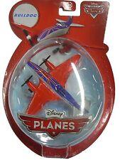 Disney Planes - Premium Bulldog Die Cast Plane with Spinning Propellers