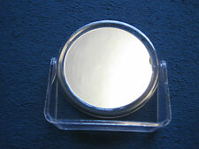Freestanding / bathroom round mirror - Double sided with magifying mirror - GC