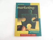 MARKETING A PRACTICAL APPROACH RIX STANTON 3RD ED 1998 TEXTBOOK