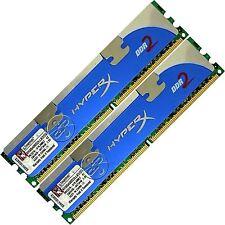 KINGSTON HyperX 2gb 2x1gb ddr2-800mhz pc2-6400 NON-ECC Desktop Da Gioco di MEMORIA RAM
