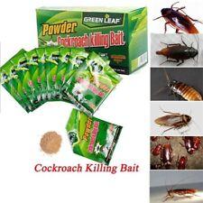 5-pcs Powerful Cockroach Killing Bait Powder Home Pest Killer Insecticide Gre🍀