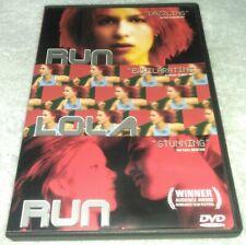 Run Lola Run Dvd Original in German Subtitles: English, French Rare oop