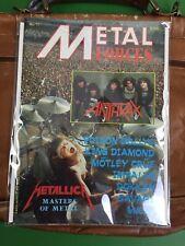 Vintage Original Metal Forces Magazine Lars Ulrich Metallica 1986 Number 17
