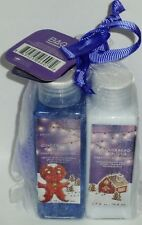 Olivia Grace GINGERBREAD & VANILLA Body Moisturizer, Body Wash & Shower Pouf