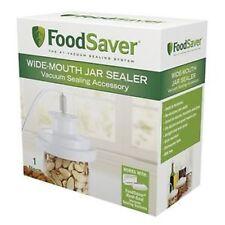 FoodSaver Wide-Mouth Jar Sealer T03-0023-01, New For Wide Mouth Pint Quart & Gal