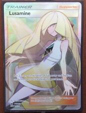 Pokemon Card Trainer  LUSAMINE  Ultra Rare 110/111  CRIMSON INVASION  ***MINT***