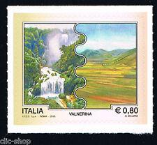 ITALIA UN FRANCOBOLLO TURISTICA VALNERINA 2015 nuovo**