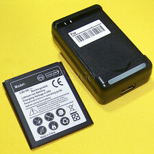New 3570mAh Battery Travel Charger for Tracfone Samsung Galaxy Grand Prime S920L