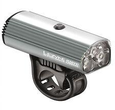 Lezyne Super Drive 1500XL USB LED 1500lm Front Bike Light Grey