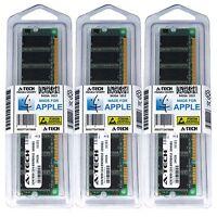 1.5GB Kit 3X 512MB Power Mac G4 Early 2001 M5183 M7945LL/A M7681LL/A Memory Ram
