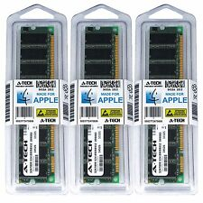 1.5GB Kit 3X 512MB Power Mac G4 Early 2001 M5183 M7945LL/A M7681LL/A Memory Ram