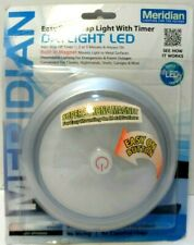Meridian Daylight LED Touch Tap Light with Timer NEW