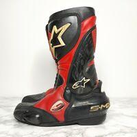 Alpinestars Motorbike Boots, UK 8, Decent Condition