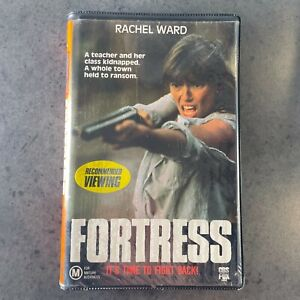 FORTRESS VHS RARE clamshell video Australian movie