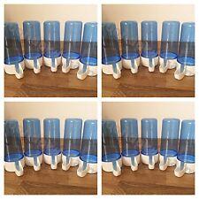 20 x Blue 110cc Cage Bird Feeder / Drinker Anti Algae for Canary Finch Budgie et