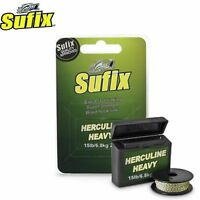 Sufix Herculine Heavy Gravel 20m Fast Sinking Braid Hook Link Super Strength