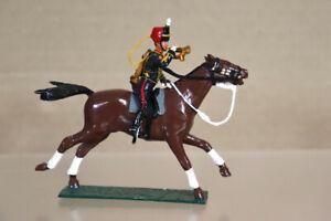 FUSILIER MINIATURES 54mm BRITISH MOUNTED ROYAL HORSE ARTILLERY BUGALER oa