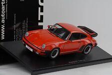 Porsche Turbo 911 3.3 guardsred rojo 1:18 Autoart 77982 OVP