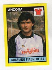 figurina IL GRANDE CALCIO VALLARDI 1988/89 NUMERO 317 ANCONA PIAGNERELLI