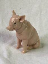 Harmony Kingdom artist Neil Eyre Designs Farm Pig Piggy Hog nude flesh pink New