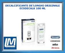 DECALCIFICANTE DE LONGHI ECODECALK 100ML 5513295981 X TUTTE LE MACCHINE DA CAFFÈ