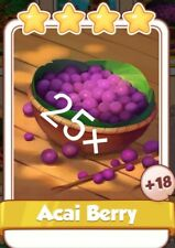 25× ACAI BERRY OF AMAZON'S SET  Coin Master Cards (Fastest Delivery)