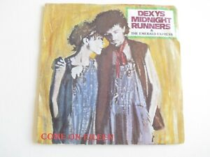 """Dexy's Midnight Runners - Come On Eileen 7"""" Vinyl 1982 - FREE P&P - DEXYS 9"""