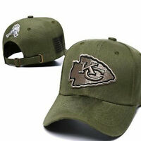 KANSAS CITY CHIEFS Salute to Service Hat Gorras Casquette Snapback Hat Baseball