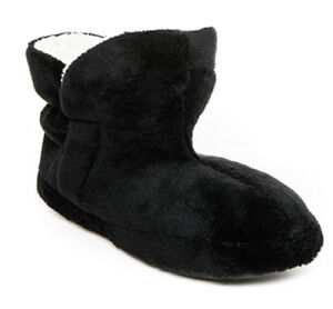 Patricia Green - Ankle Bootie Slipper - Black - Size 9