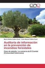 Auditoria de Informacion En La Prevencion de Incendios Forestales (Paperback or