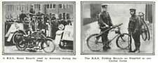 1917 Bsa Motorbike Used Antwerp Siege, Folding Bike For Cyclist Corps
