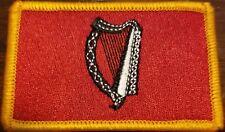 IRELAND Flag Patch W/ VELCRO® Brand Fastener Tactical Morale IRISH Version #11