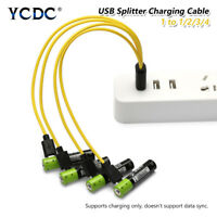 MICRO USB 2.0 FAST CHARGING DATA CABLE FOR ANDROID PHONE TABLET 1/2/3/4 IN 5V/2A