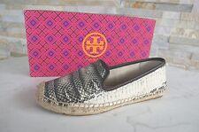 TORY BURCH Gr 41 11 Slipper Espandrillos Loafers Schuhe Schlange NEU UVP 180 €